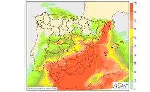El inesperado cambio de tiempo en Valencia para el fin de semana