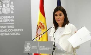 La carta de despedida de Carmen Montón