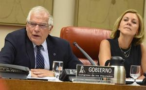 Borrell justifica el envío de bombas a Arabia porque no causan daños colaterales