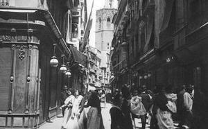 La calle desaparecida del centro de Valencia