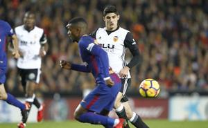 Más atacantes que defensas en la lista del Valencia contra el Betis