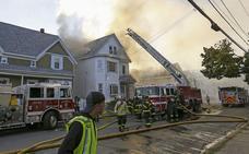 Decenas de explosiones de gas en Boston causan un muerto y doce heridos