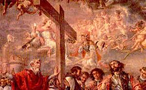 Santoral de hoy 14 de septiembre. Exaltación de la Santa Cruz
