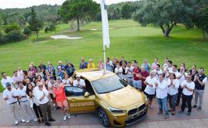 BMW Maberauto entrega  el premio 'Hoyo en uno'