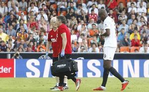 Vídeo de la lesión de Kondogbia en el Valencia-Betis