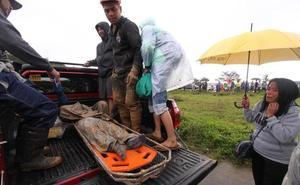 Aumentan a 59 las víctimas mortales tras el paso del supertifón 'Mangkhut' por Filipinas