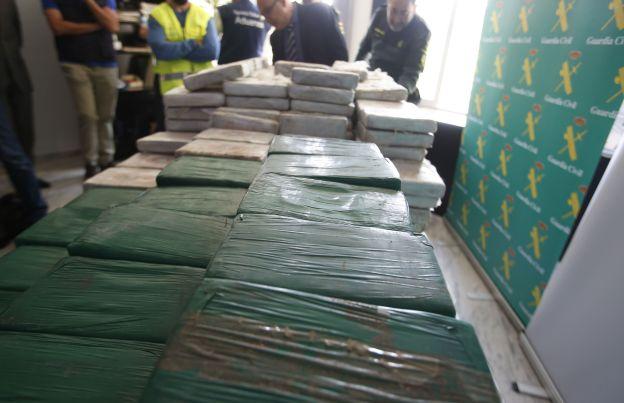Intervenido otro alijo de 500 kilos de cocaína en el puerto de Valencia