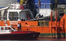 Ninguna solicitud de asilo de los migrantes del Aquarius ha sido aún resuelta