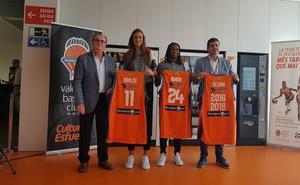 Abalde y Adams quieren crecer con el Valencia Basket