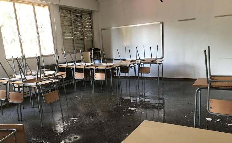 La lluvia inhabilita colegios y pone en alerta a la Comunitat