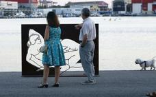 El Foro de la Familia exige el cambio de ubicación de las esculturas sexuales de la Marina de Valencia