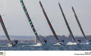El Platoon, primer líder de las Super Series Valencia Sailing Week