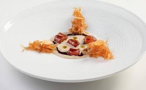 Quique Dacosta viste de alta cocina la chufa de Valencia