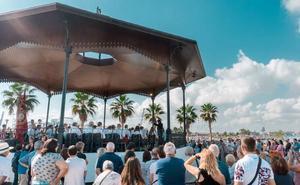 Conciertos de bandas en la pérgola de La Marina de Valencia