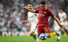 El Real Madrid-Roma, en imágenes