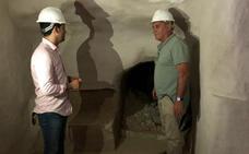 Pasadizo secreto en la Cueva de Alfonso XIII