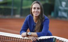 Anabel Medina: «Puedo aportar muchas cosas buenas al tenis desde otra perspectiva»