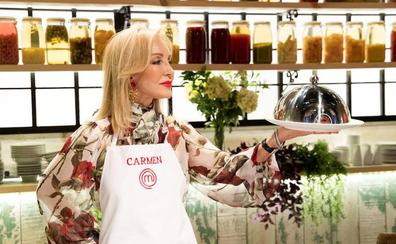 Carmen Lomana, la concursante más delicada de 'MasterChef Celebrity 3'