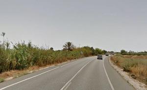 Una joven de 18 años muere en la N-332 al estrellarse con su coche a las 4 de la madrugada