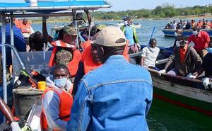 Luto nacional en Tanzania por los 131 muertos en el naufragio del lago Victoria