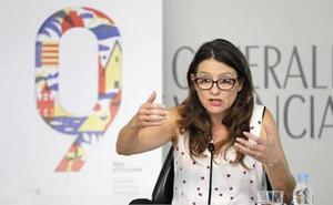 Oltra cree que la Generalitat podría asumir las competencias y el personal de las diputaciones