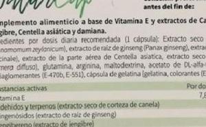 Sanidad retira de las tiendas el complemento alimenticio Natur Cap Cápsulas