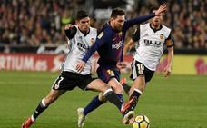 Hasta 230 euros para ver el choque ante el Barcelona en Mestalla