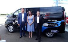 Ford cede a la Generalitat vehículos de servicios sociales