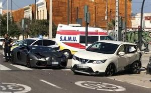 Una mujer de 36 años, herida muy grave tras un accidente en Eugenia Viñes