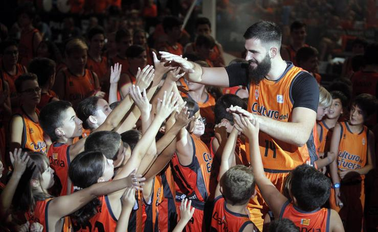 Partido de presentación del Valencia Basket