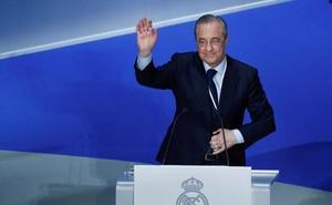 Florentino Pérez: «Avalé 147 millones de euros para paliar la deuda del club»