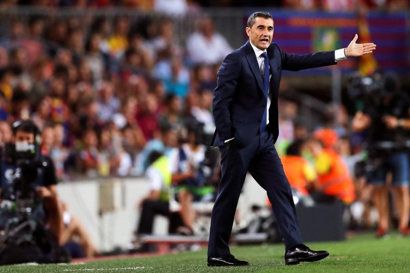 Valverde: «Creo que no ha sido expulsión»