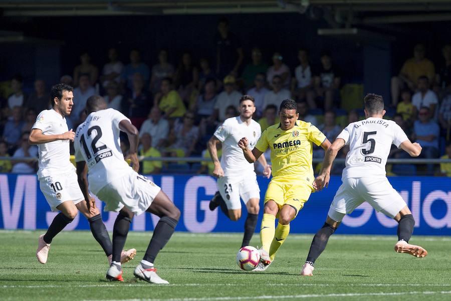 Villarreal 0-0 Valencia de la jornada 5 de LaLiga Santander