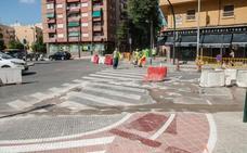 El Ayuntamiento de Valencia inicia la construcción de nuevos carriles bici en dos de las avenidas más transitadas de la ciudad