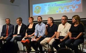La plataforma por la financiación retoma su actividad tras la llegada de Sánchez al Gobierno