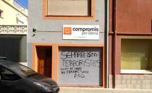PSPV, Compromís y CCOO denuncian pintadas en sus sedes