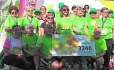 La Runcáncer recauda 3.340 euros para luchar contra la enfermedad