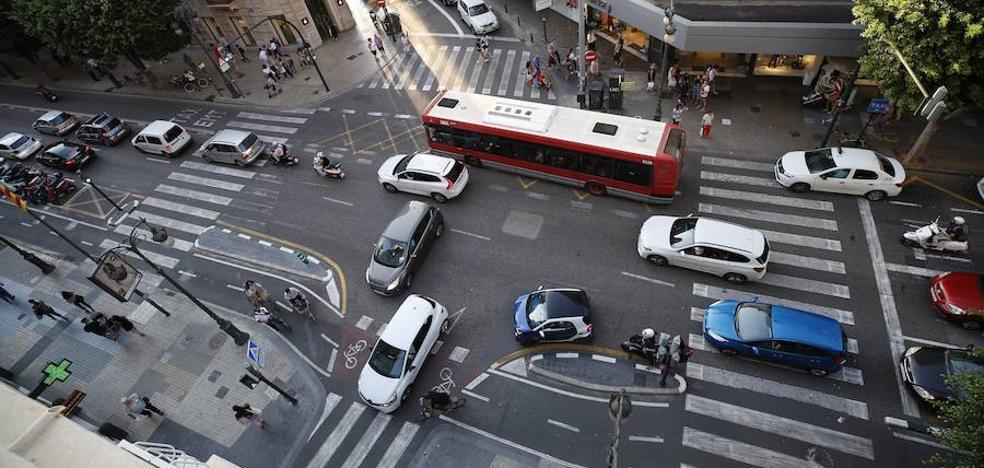 El caos de la calle Colón