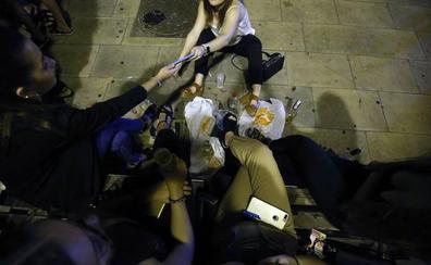 «La solución del botellón no la tiene la Policía Local»