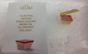 Gelart presentará en el D*na el primer helado de gamba roja de Dénia