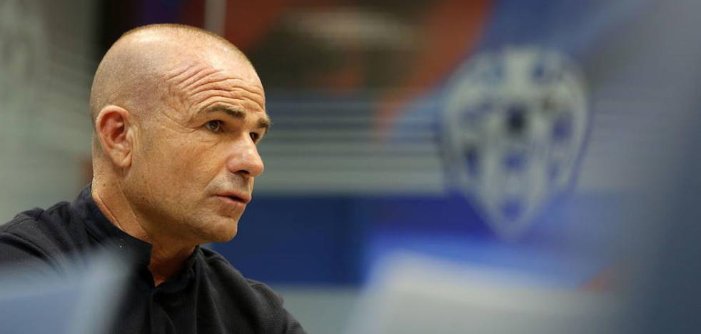Paco López: «Tengo la misma confianza en Oier que antes»