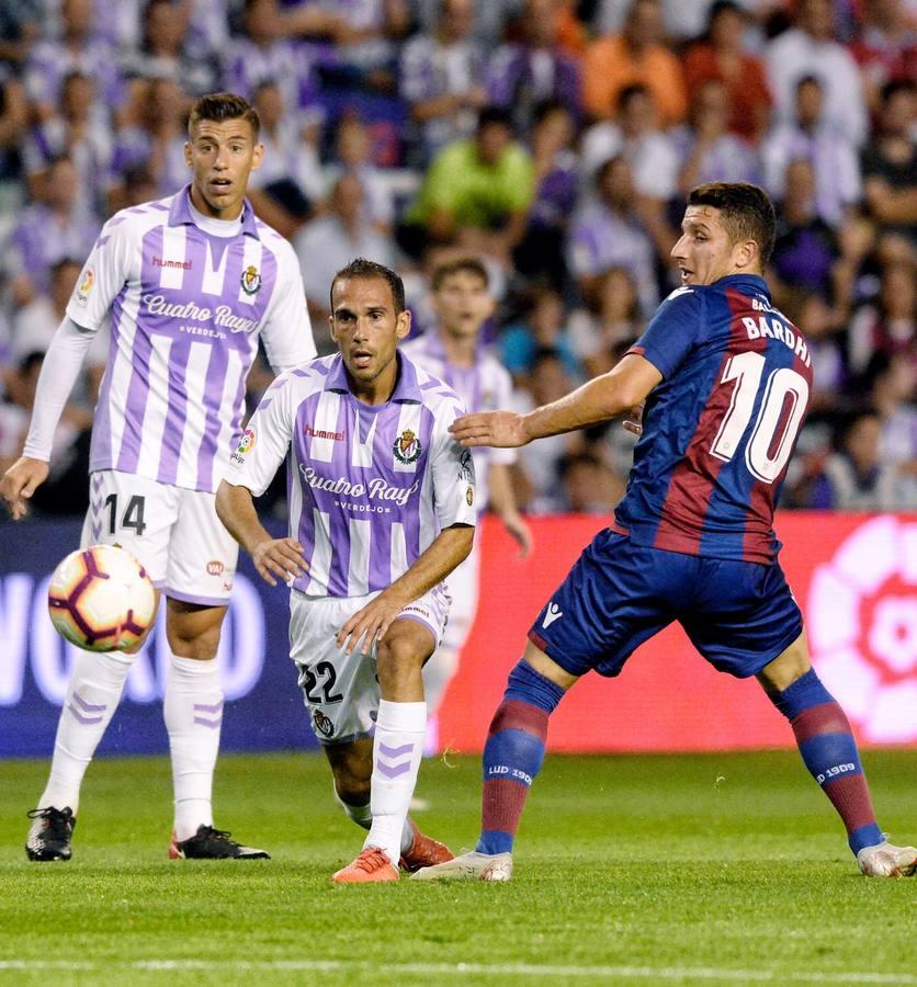 Real Valladolid - Levante: las mejores imágenes del partido