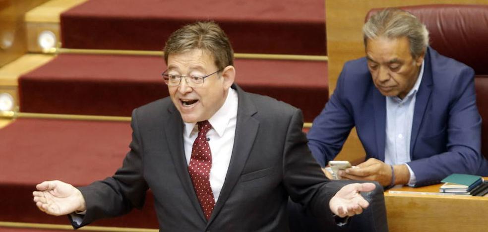 Ximo Puig lamenta que Cataluña «no quiera saber nada de nosotros»