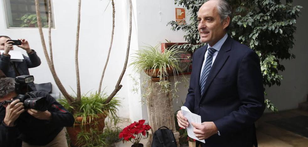 Camps dice que la nueva investigación es una cortina de humo para tapar las conversaciones de Villarejo y la ministra