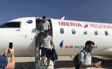 El Levante UD ya está en Valladolid