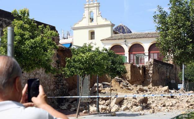 Aprobada la declaración de emergencia para reconstruir el muro de los Silos de Burjassot
