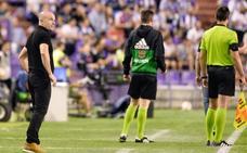 Paco López: «El del primer tiempo ha sido un equipo desconocido para mí»