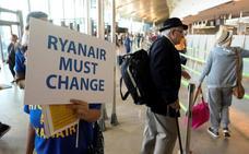 Ryanair cancela 18 vuelos en Valencia y 10 en Alicante por la huelga