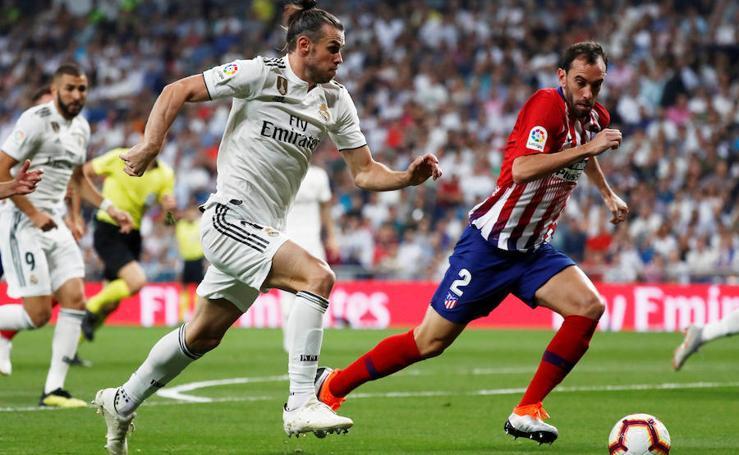 Las mejores imágenes del Real Madrid-Atlético de Madrid