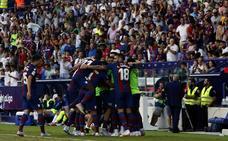 Resumen y goles del Levante 2-1 Alavés